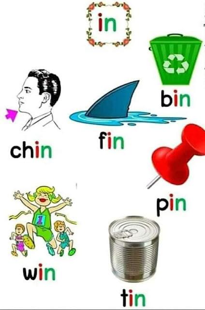 كلمات العائلات طريقة ممتازة لحفظ كلمات اللغة الانجليزية