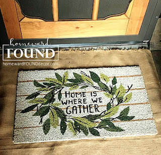 spring decorating, spring entryway, spring doormat, spring front door decor, front door decor, doormats, entryway, home decorating