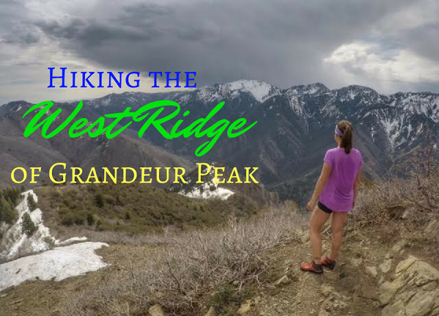 Hiking the West Ridge to Grandeur Peak, Millcreek Canyon