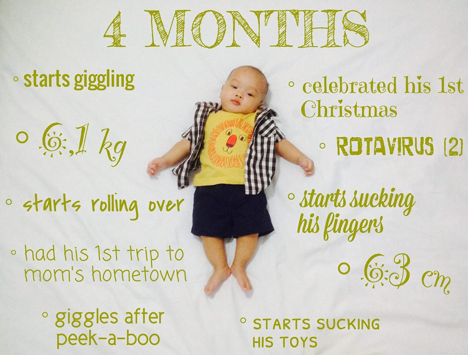 Stimulasi Bayi 4 Bulan Gracemelia Com Parenting Blogger Indonesia