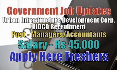 UIDCO Recruitment 2020