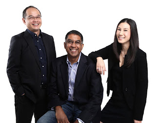 Source: Shopmatic. Shopmatic co-founders from left: Kris Chen,  Anurag Avula, and Yen Ti Lim.