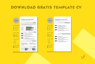 Download Template CV Gratis