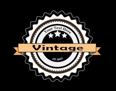 Retro Vintage Logo in Adobe Illustrator