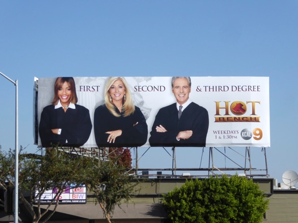 Hot Bench TV series billboard