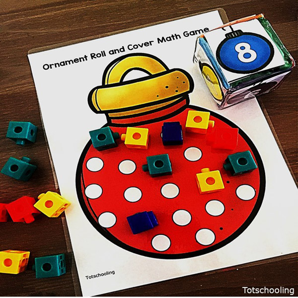 christmas counting games activities click this post to download two fun christmas themed roll and count games which are sure to engage your students - Christmas Games For Toddlers