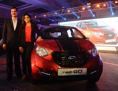 Datsun redi-GO Sport Limited Edition with sakshi mallik