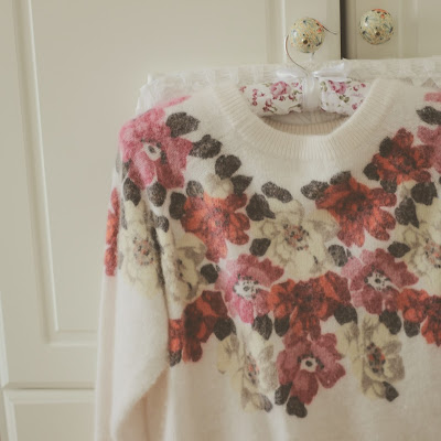 Floral mohair jumper from H&M