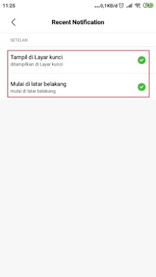 recent notification apk