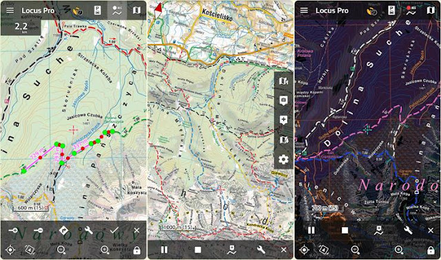 تنزيل Locus Map Free – Outdoor GPS navigation and maps APK