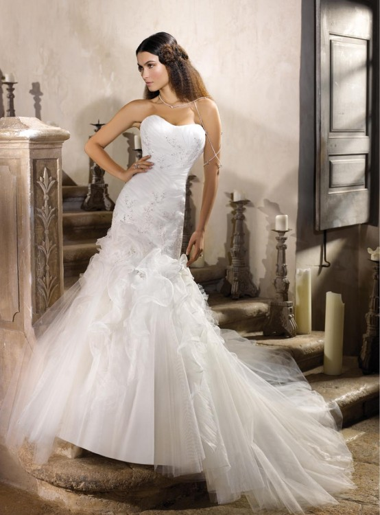 Bellos vestidos de novias | Colección Just For You
