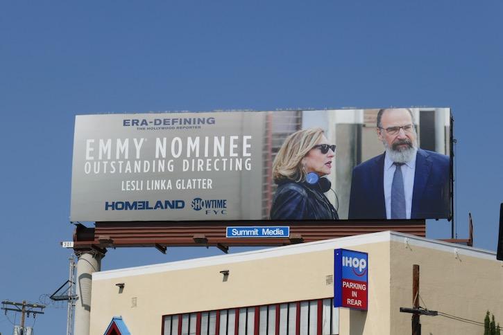 Homeland 2020 Emmy nominee billboard