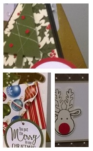 Christmas Card Class zena kennedy independent stampin up demonstrator