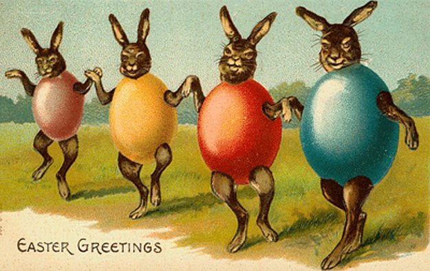 Easter Postcards From The Early 20th Century These Were Especially Popular Around 1900 To 1915 And As This Gallery Demonstrates
