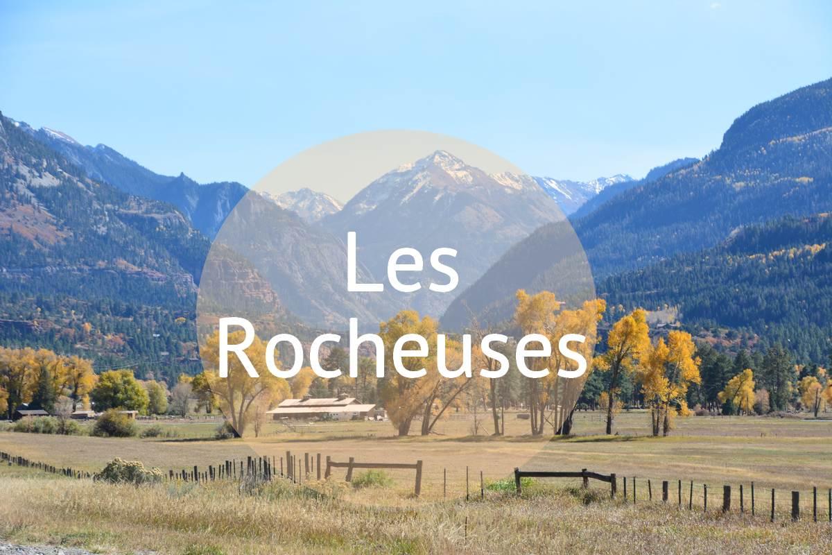 Panorama sur les montagnes des Rocheuses