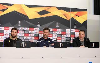 LIVE: Διάσκεψη Ουζουνίδη (FC Basel - APOEL FC)