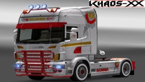 Scania V8 Power Skin