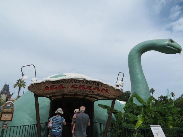 Gertie Dinosaur Ice Cream of Extinction Disney's Hollywood Studios