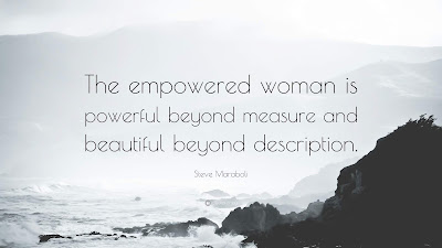 Steve Maraboli Quotes Woman