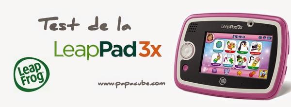 Test de la LeapPad 3X