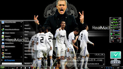 real madrid theme windows 7