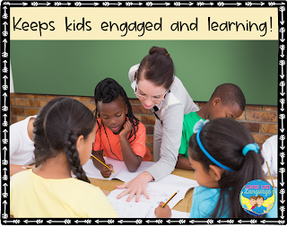 When kids are having fun, they are engaged in learning.