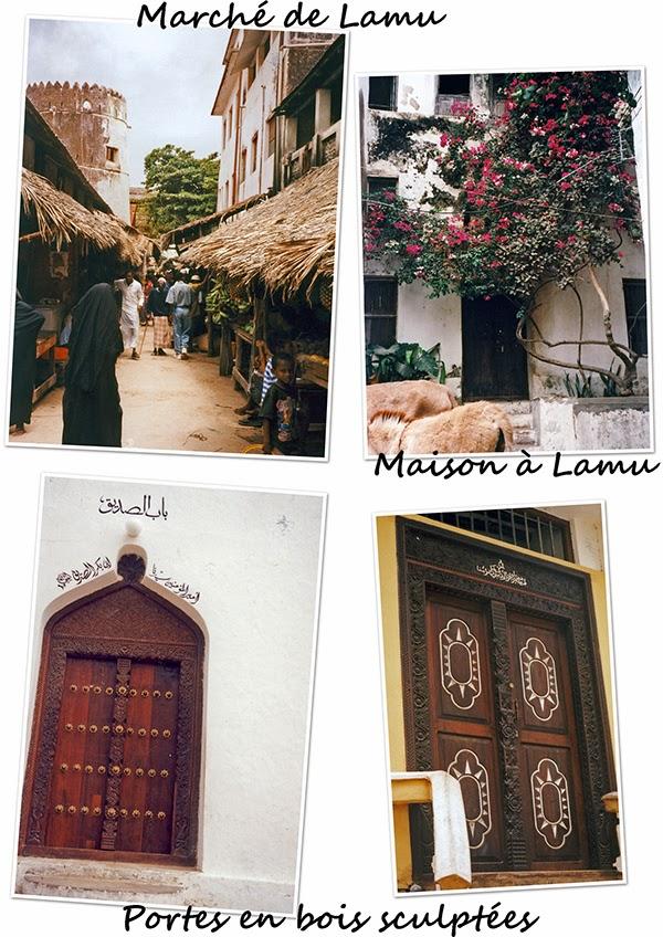 Vieille ville de Lamu au Kenya