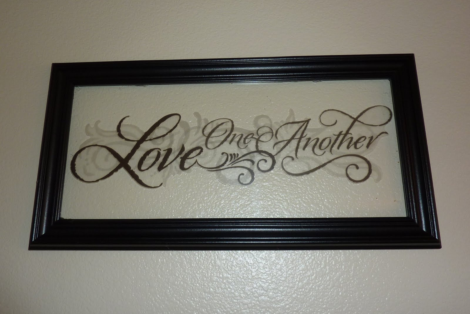 Frames With Quotes On Them: No Time To Be Bored: Faux Etched Glass Framed Quote
