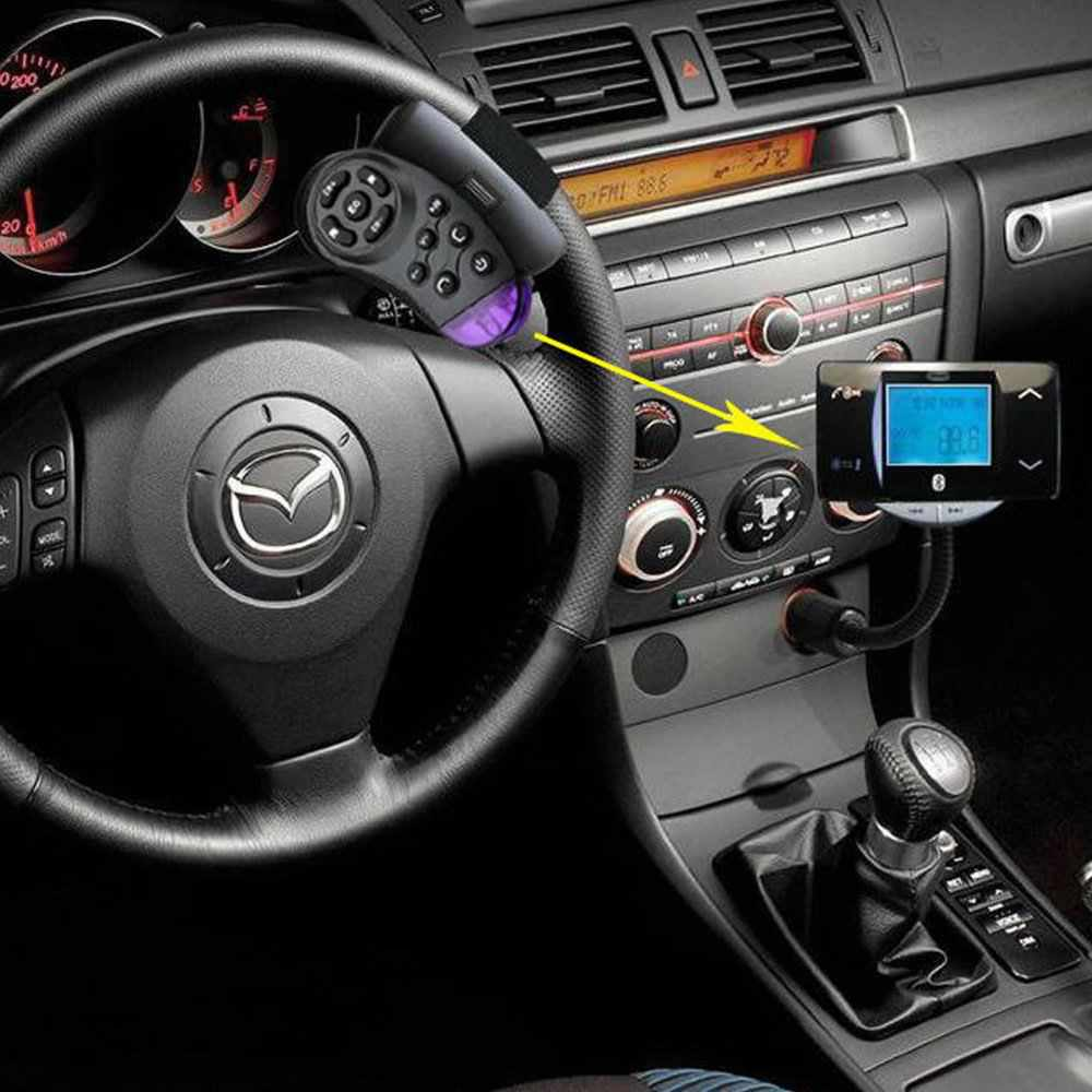 How To Connect Mp3 Player Car Stereo Without Aux Port Old Audio Connecting Using A Fm Modulator With Auxiliary Input