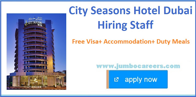 New hotel jobs and careers in Dubai, star hotel Job openings in Gulf countries,