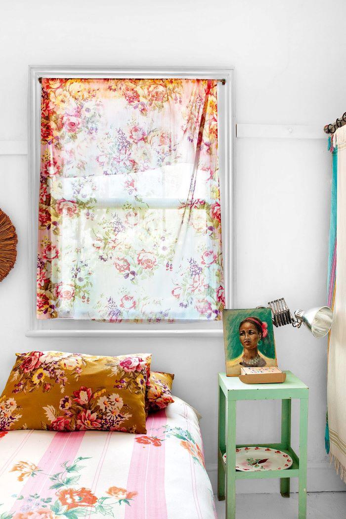 Bright and cheery bedroom-designaddictmom