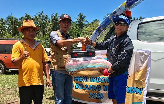 PT. MSM dan TTN Dibawah Naungan PT. Archi Indonesia Serahkan Bantuan Kepada  Warga Bolmong dan Bolmut