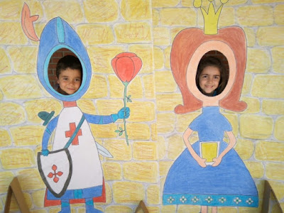 Agustinas Valladolid - 2017 - Educación Infantil - Semana Cultural - Photocall