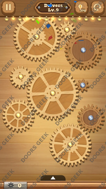 Fix it: Gear Puzzle [Drivers] Level 9 Solution, Cheats, Walkthrough for Android, iPhone, iPad and iPod