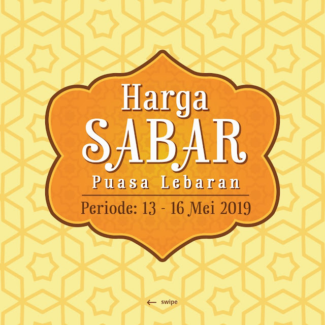 #Yogya - #Promo #Katalog Harga Sabar Periode 13 - 16 Mei 2019