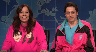 Amy Waters Davidson with her son Pete Davidson