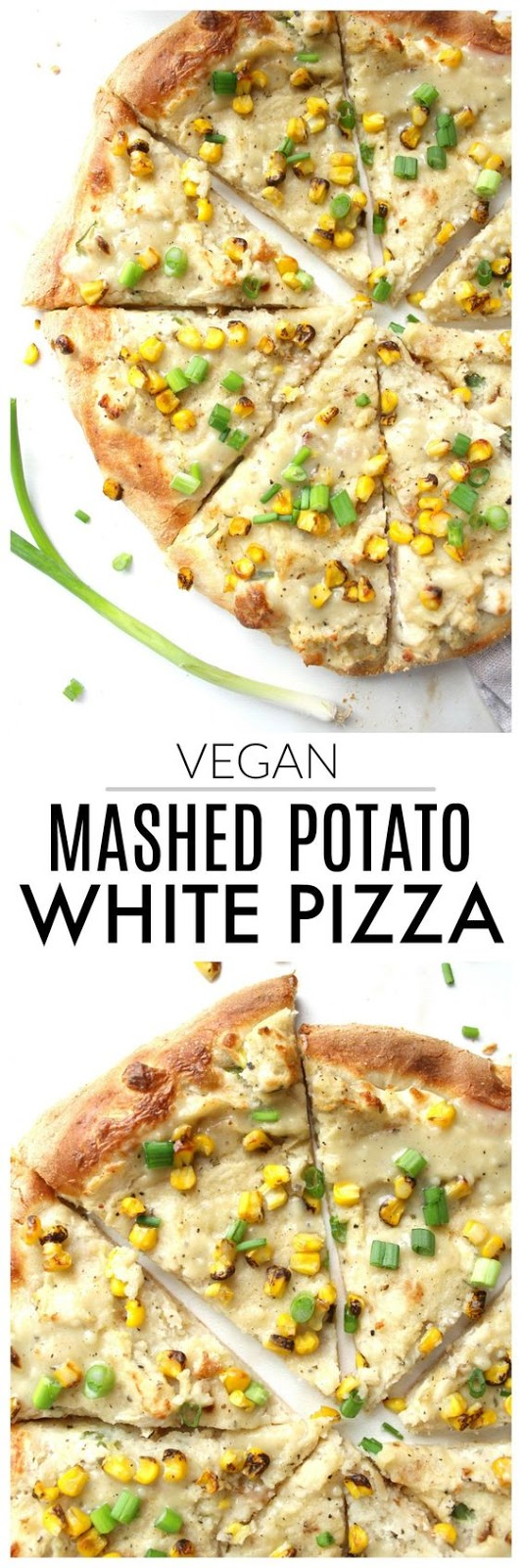 Low Carb/Vegan Mashed Potato White Pizza