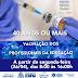 VACINA: VACINA PARA PROFISSIONAIS DA EDUCAÇÃO DE BONFIM COMEÇA NESTA SEGUNDA-FEIRA 26