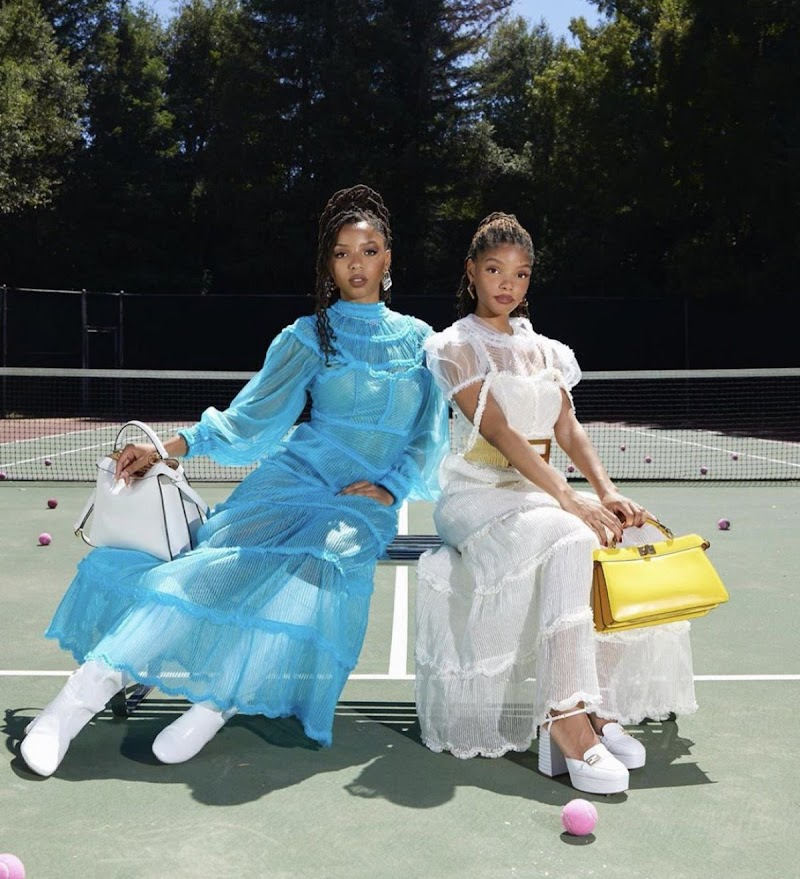 Chloe X Halle Featured for Fendi 2020