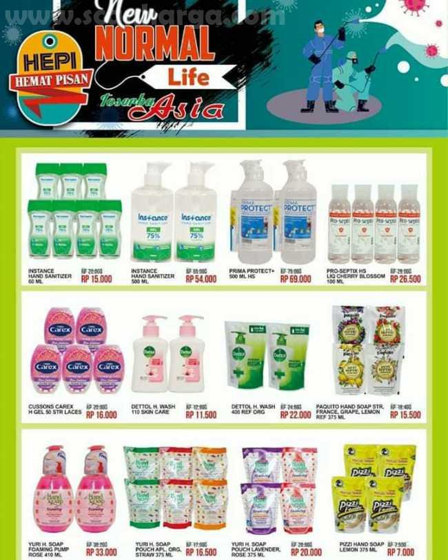 Katalog Promo ASIA TOSERBA Terbaru Periode 1 - 15 Juli 2020 2
