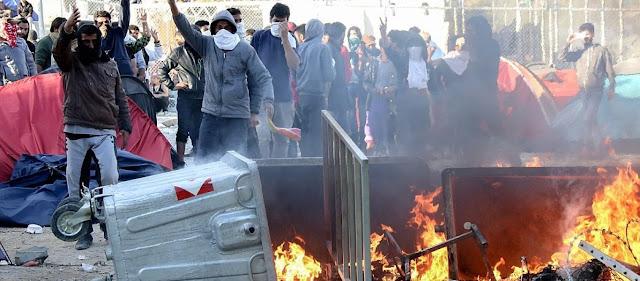 Η εξέγερση των αλλοδαπών στο Λαύριο προκλήθηκε από «μαύρη επιχείρηση»
