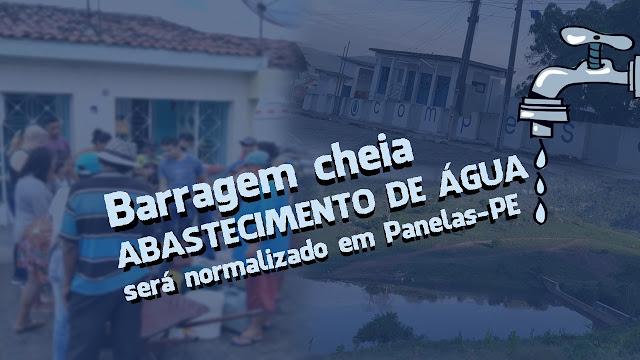 Abastecimento de água na cidade de Panelas-PE será normalizado em breve!