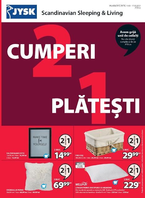 JYSK Catalog-Brosura 11-17.03 2021 → CUMPERI 2 , PLATESTI 1
