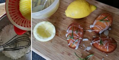 Zubereitung Zitronen-Rosmarin-Madeleines