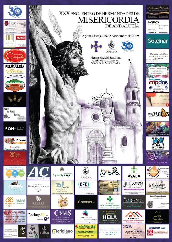 Programa de actos del XXX Encuentro de Hermandades de la Misericordia de Andalucía