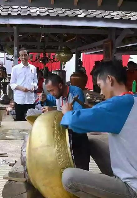 Jokowi KITE IKM