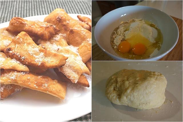 HOJUELAS 🥨 el dulce de 🎭 CARNAVAL 🎭 más fácil (OREJAS) Sin horno.