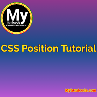 CSS Position Tutorial