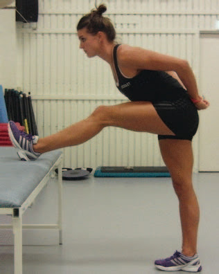 Standing Contract/Relax Hamstring Stretch - El Paso Chiropractor