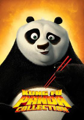 COMBO Kung Fu Panda Colección DVD HD DUAL LATINO 5.1 + SUB